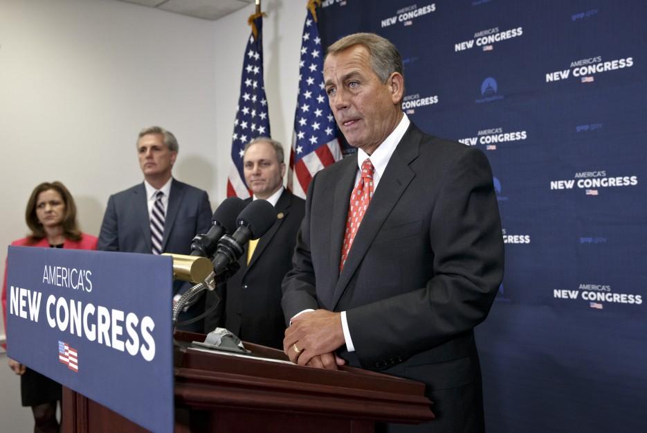 House Speaker John Boehner Shares Remarks The Morning After President  Barack Obamau0027s State Of The Union