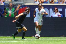 women soccer players