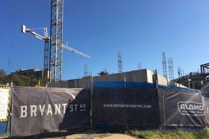 construction in the edgewood neighborhood of dc